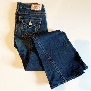True Religion Joey twist seam flare jeans 26
